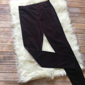 JBrand Velvet-like Jeans